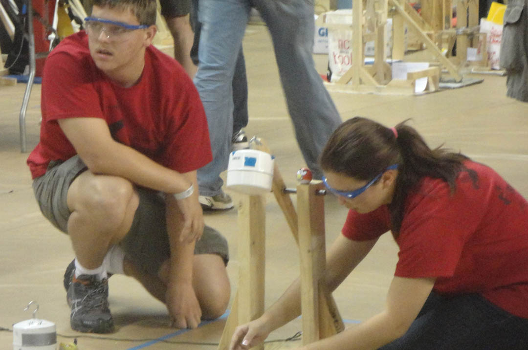 Lee Early College students win at state Science Olympiad