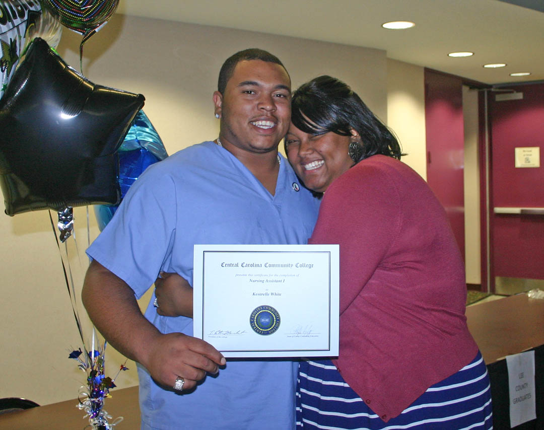 CCCC Con Ed medical graduates more than 300