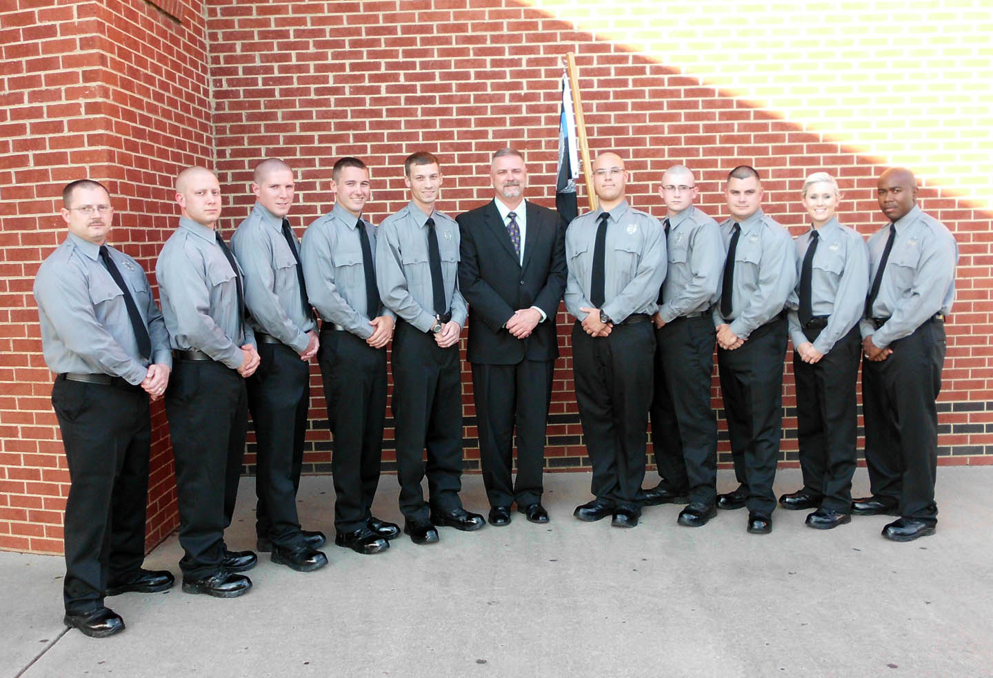 CCCC-Lee graduates 10 in law enforcement