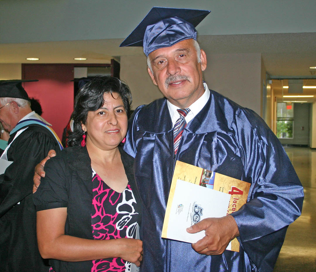 CCCC adult high school-GED graduates celebrate reaching goal