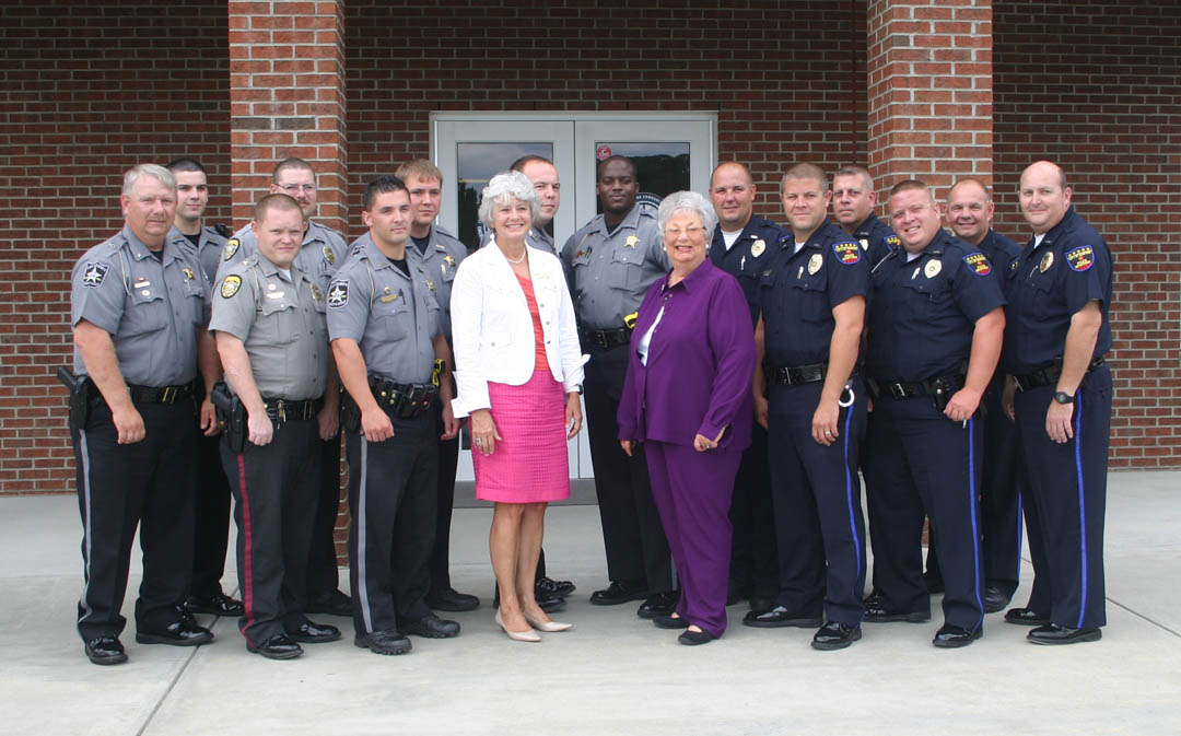 Click to enlarge Law enforcement officers graduate crisis intervention training