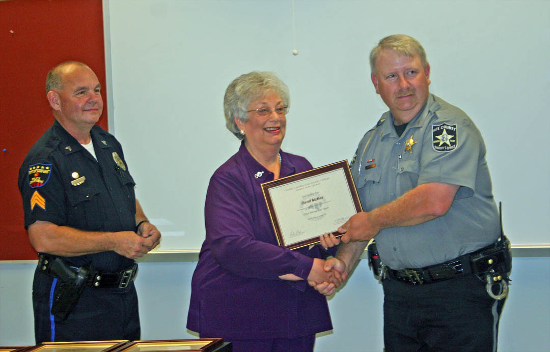 Law enforcement officers graduate crisis intervention training