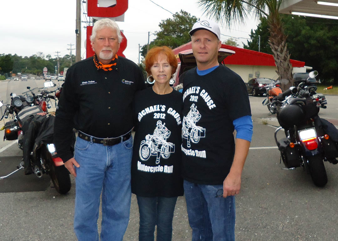 Click to enlarge Poker Run benefits CCCC motorcycle mechanics scholarship