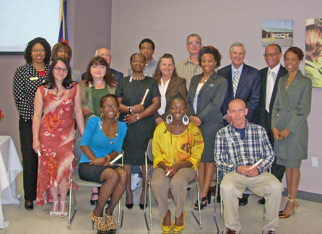 Click to enlarge CCCC-Harnett honors Career Readiness Certificate recipients