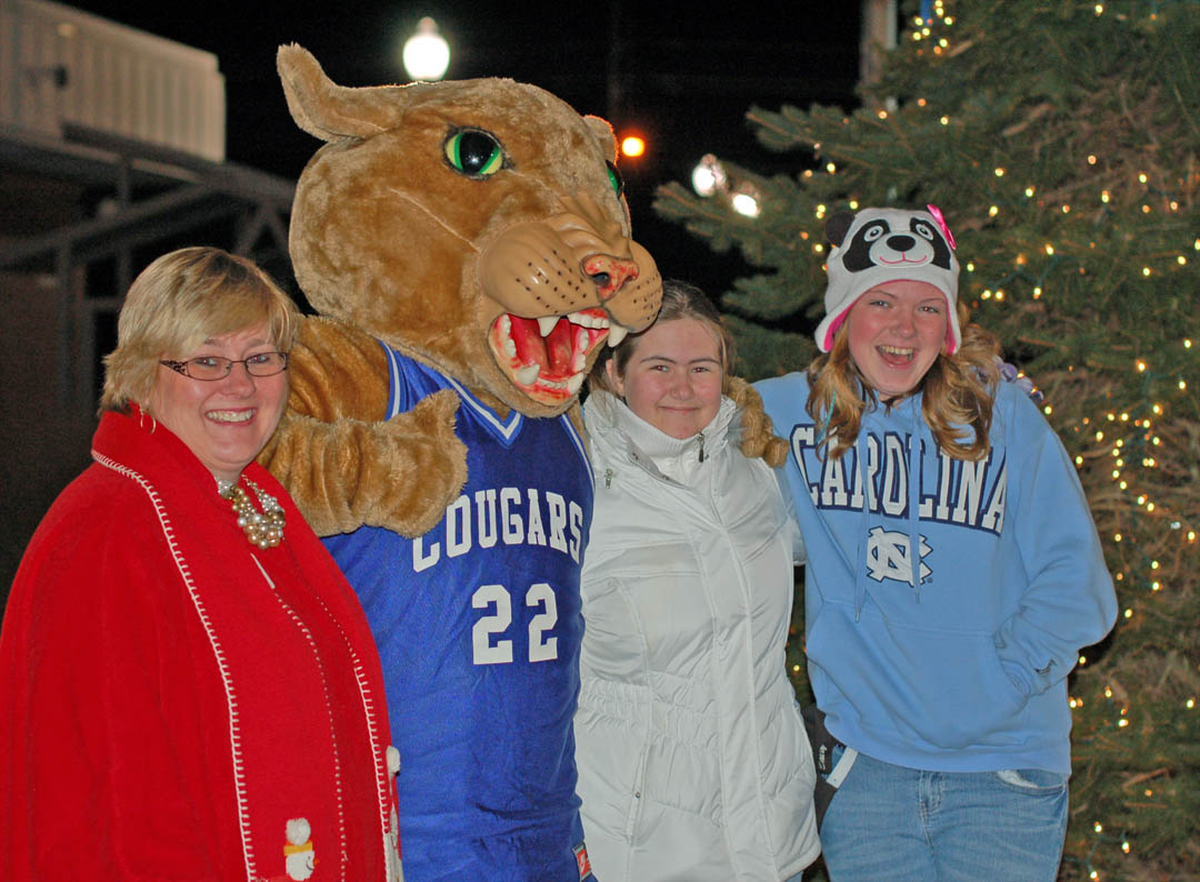 Read the full story, Community enjoys first CCCC tree lighting, Santa visit