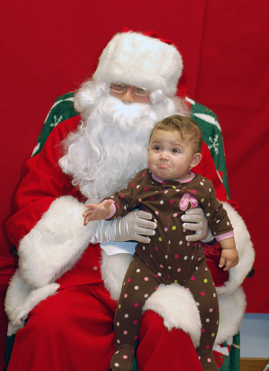 Community enjoys first CCCC tree lighting, Santa visit