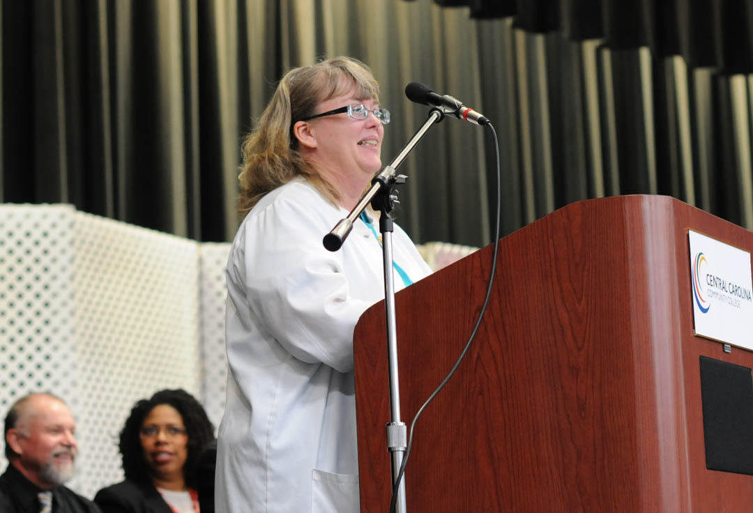 Click to enlarge CCCC holds largest Con Ed Medical Programs graduation