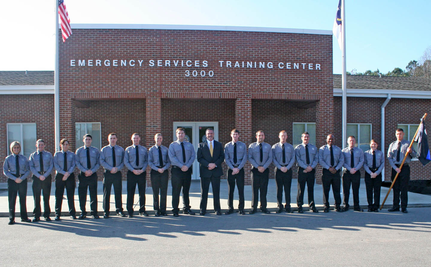 Click to enlarge CCCC graduates 16 in law enforcement