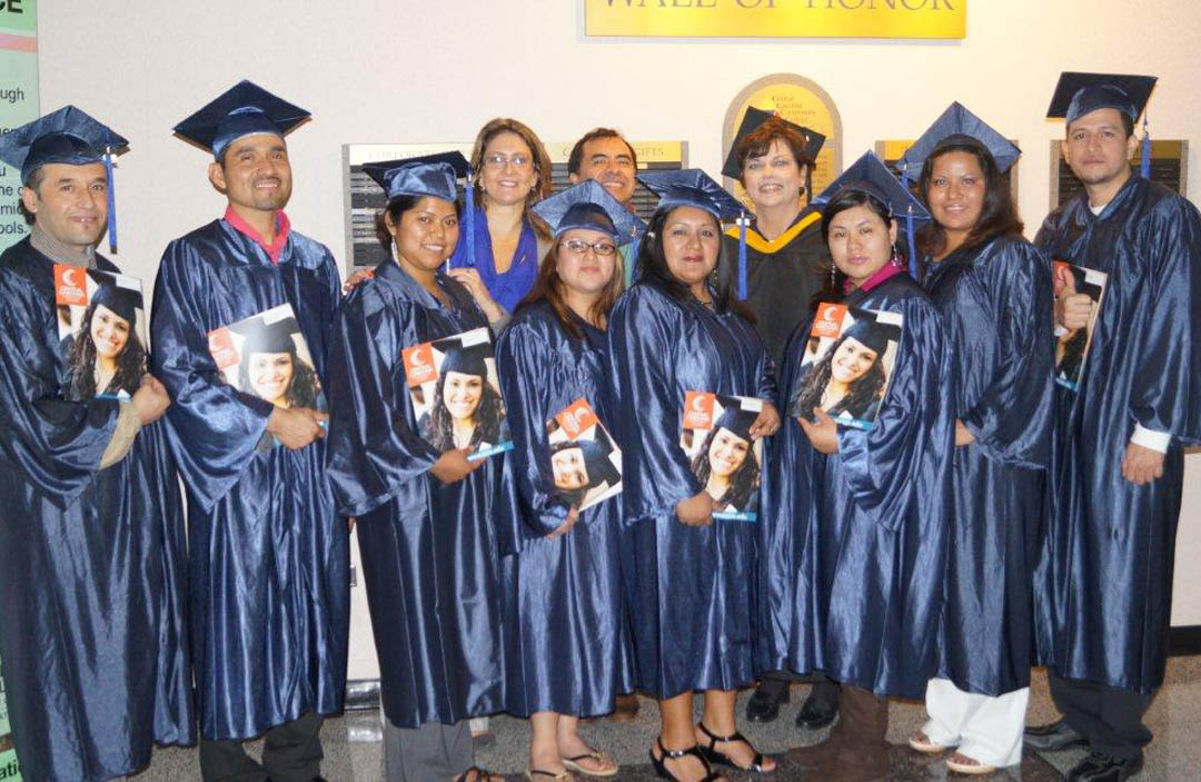 Migrant family students earn GEDs