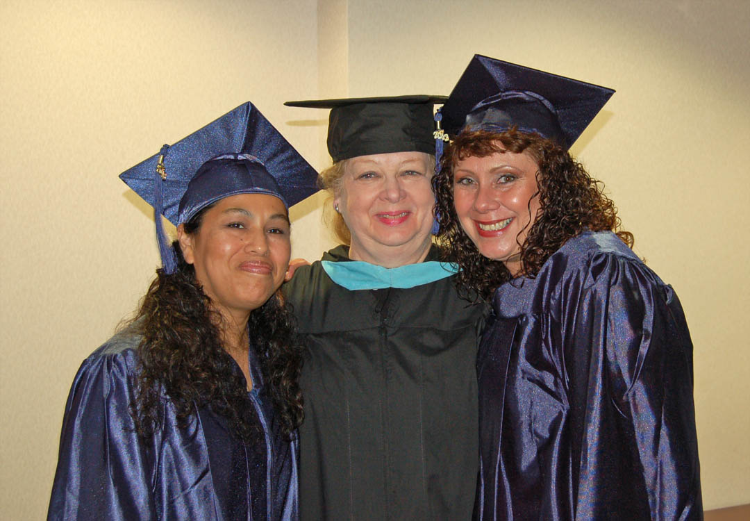 Click to enlarge CCCC Adult High School/GED graduates celebrate achievement
