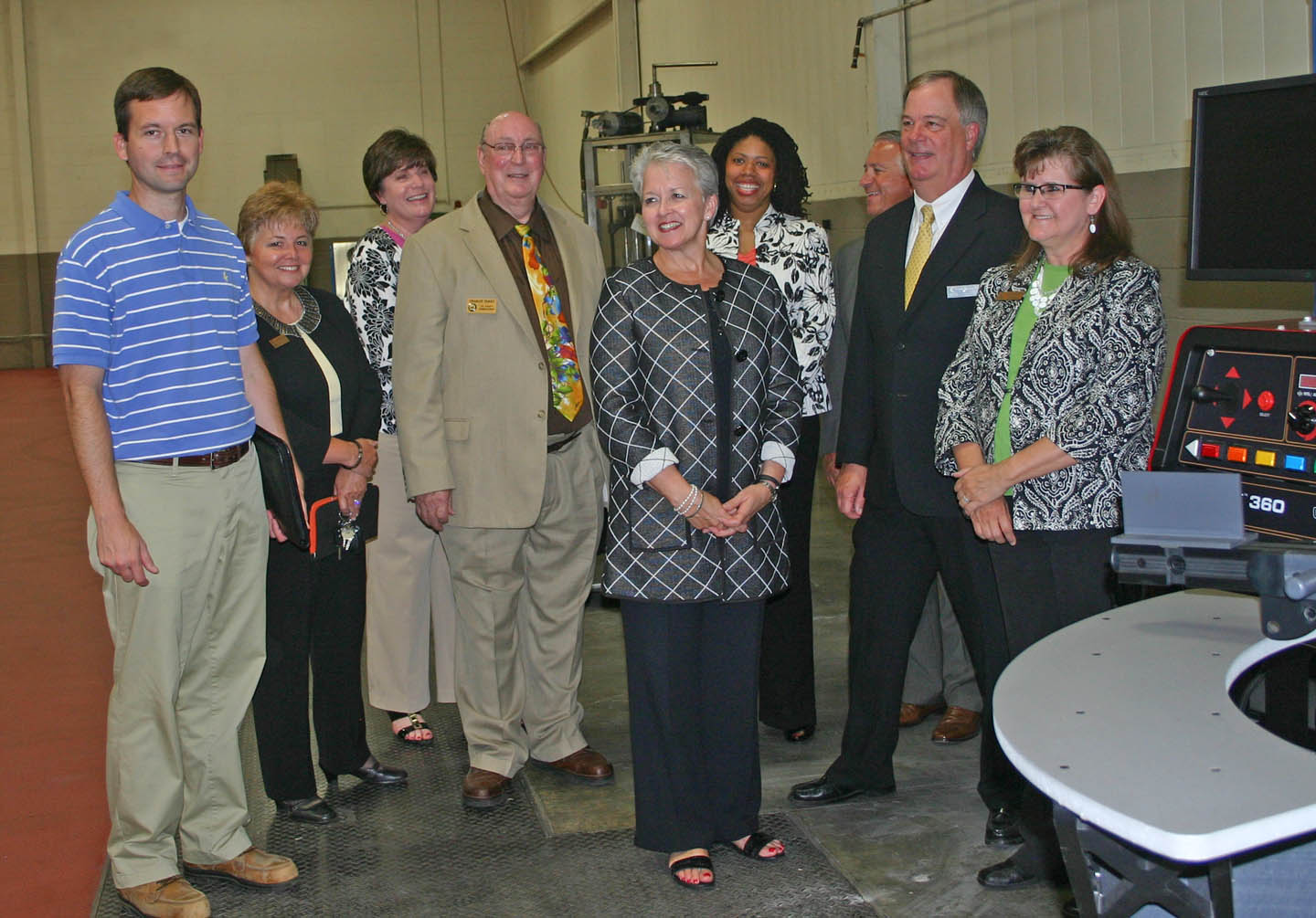 NC Secretary of Commerce impressed by Innovation Center