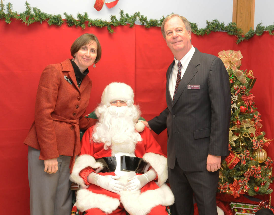 Click to enlarge  Santa invites all to CCCC Foundation's Christmas Tree Lighting
