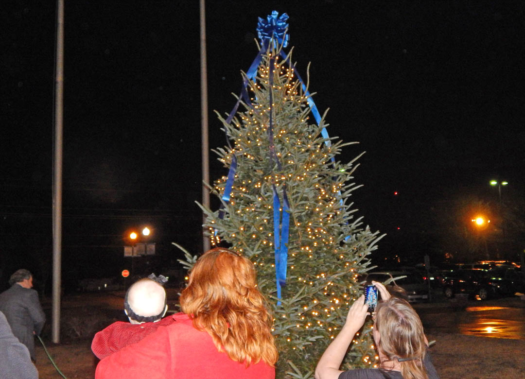 CCCC Christmas Tree Lighting brings out community
