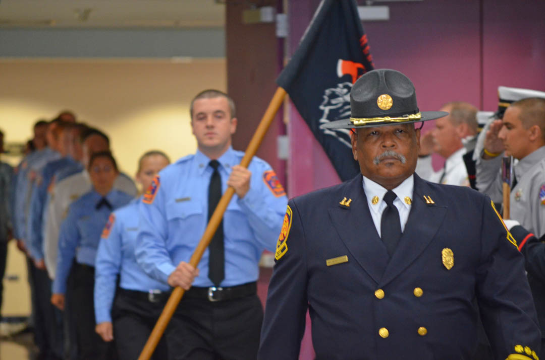 Capt. Dunn, the heart of CCCC's Fire Academy