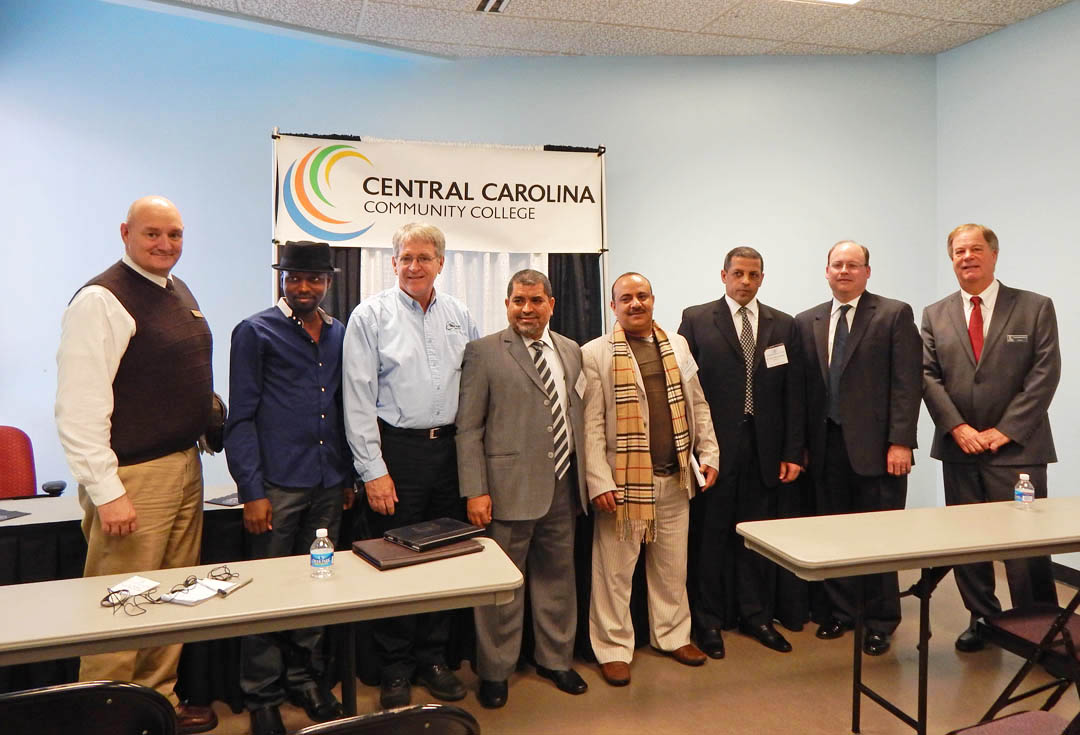 Click to enlarge CCCC training, partnerships impress international visitors