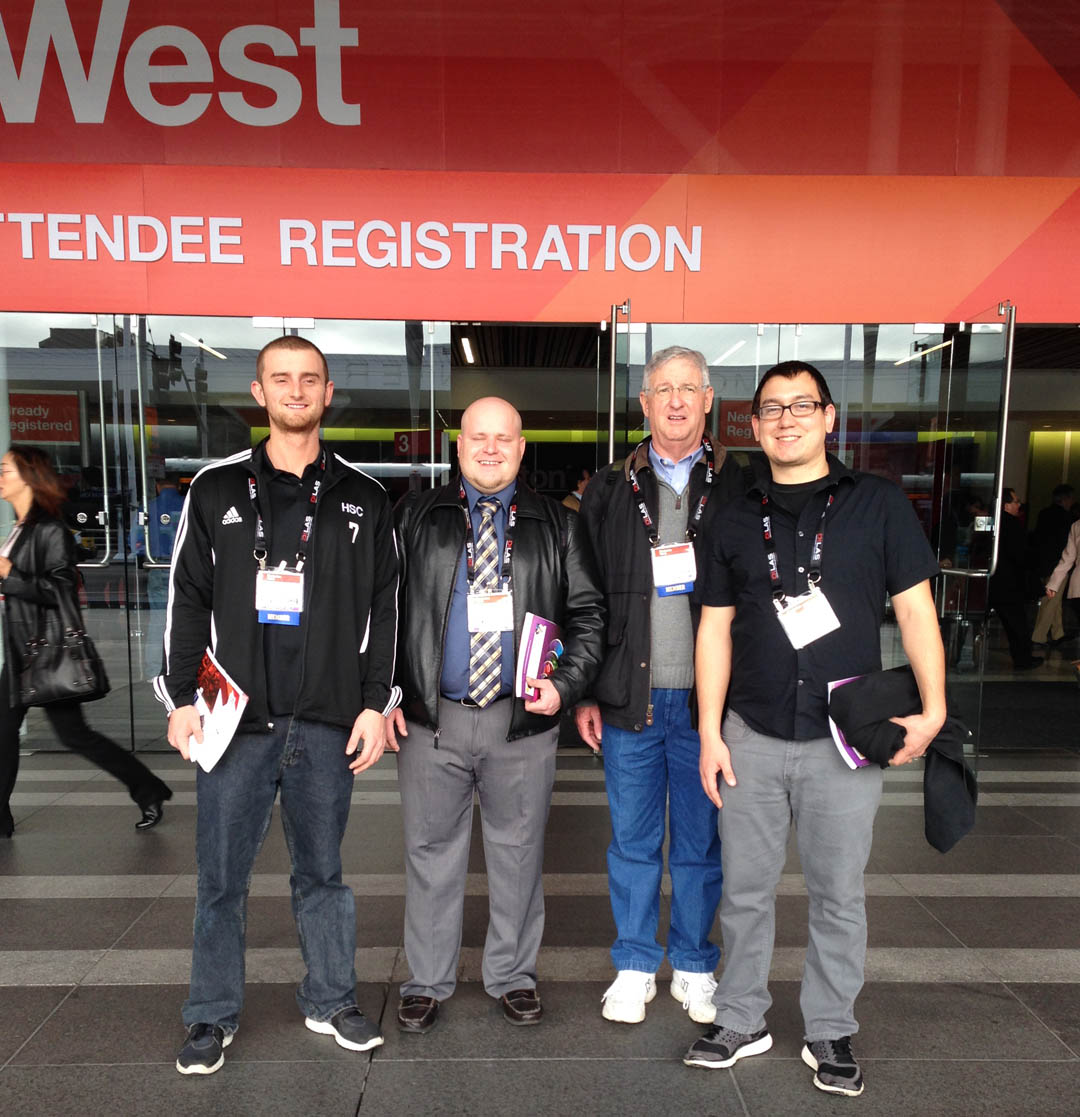 CCCC students attend national photonics convention