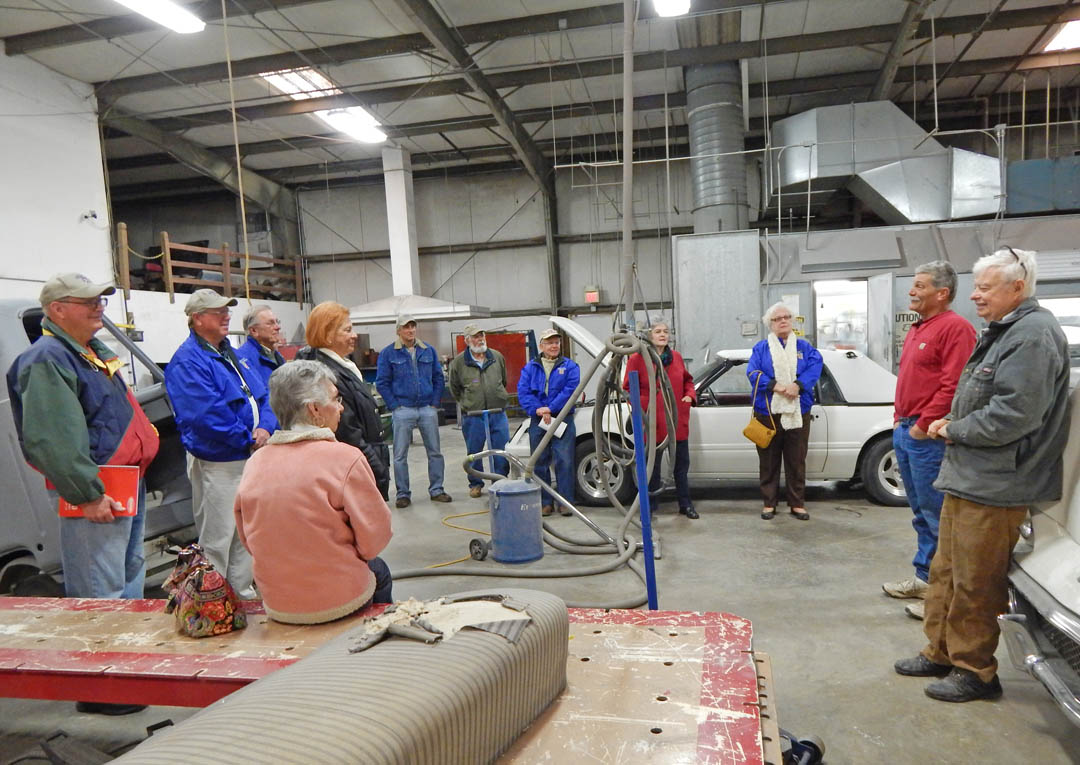 Read the full story, British Auto Touring Society visits CCCC Auto Restoration