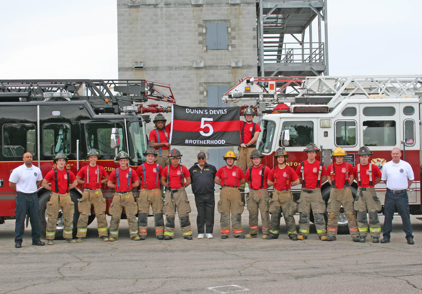 Volunteer fire fighters earn certification at CCCC Fire Academy