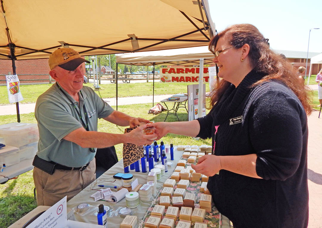 Read the full story, CCCC Lee Campus hosts Earth Day mini-Farmers Market