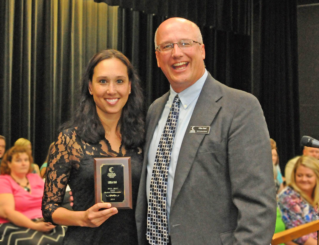 Click to enlarge Excellence honored at CCCC awards program