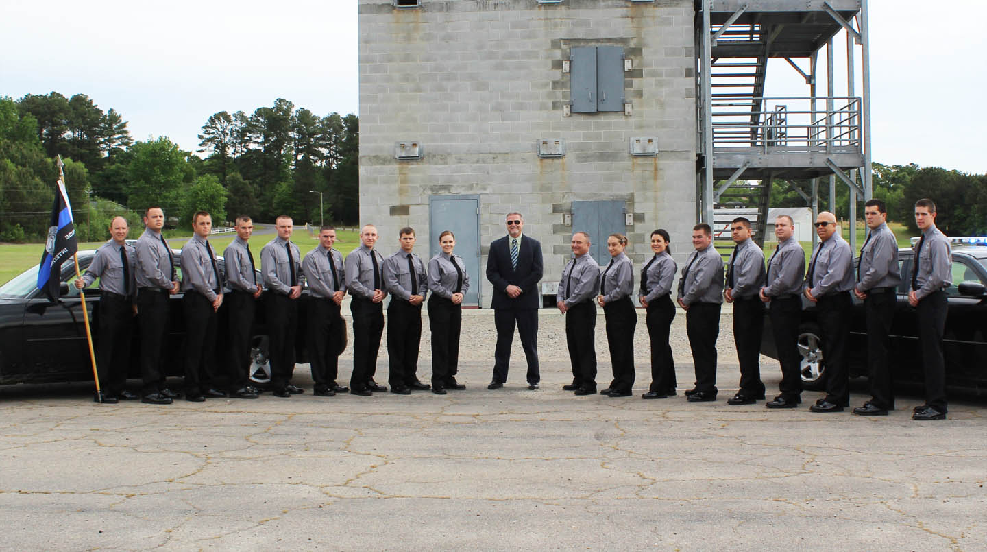 Click to enlarge CCCC Basic Law Enforcement Training graduates 29