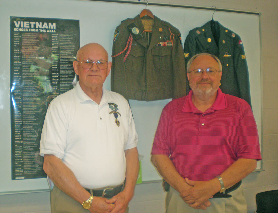Click to enlarge Vets take CCCC students inside Vietnam War experience