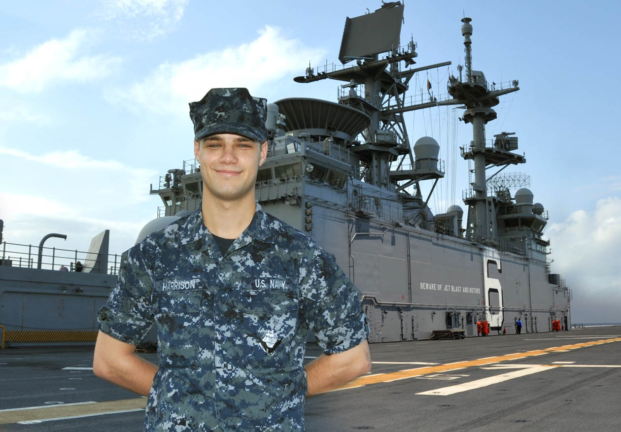 Read the full story, LEC graduate serves aboard Navy's newest amphibious - assault ship
