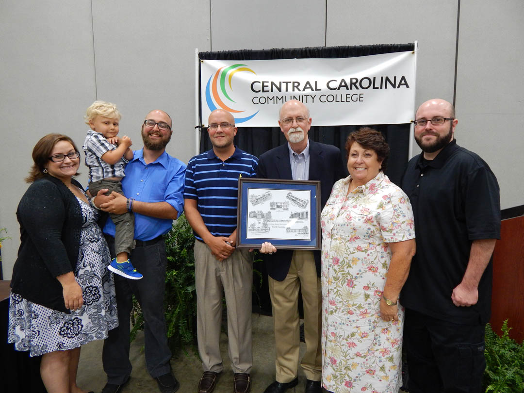 Read the full story, Lett honored for service to CCCC
