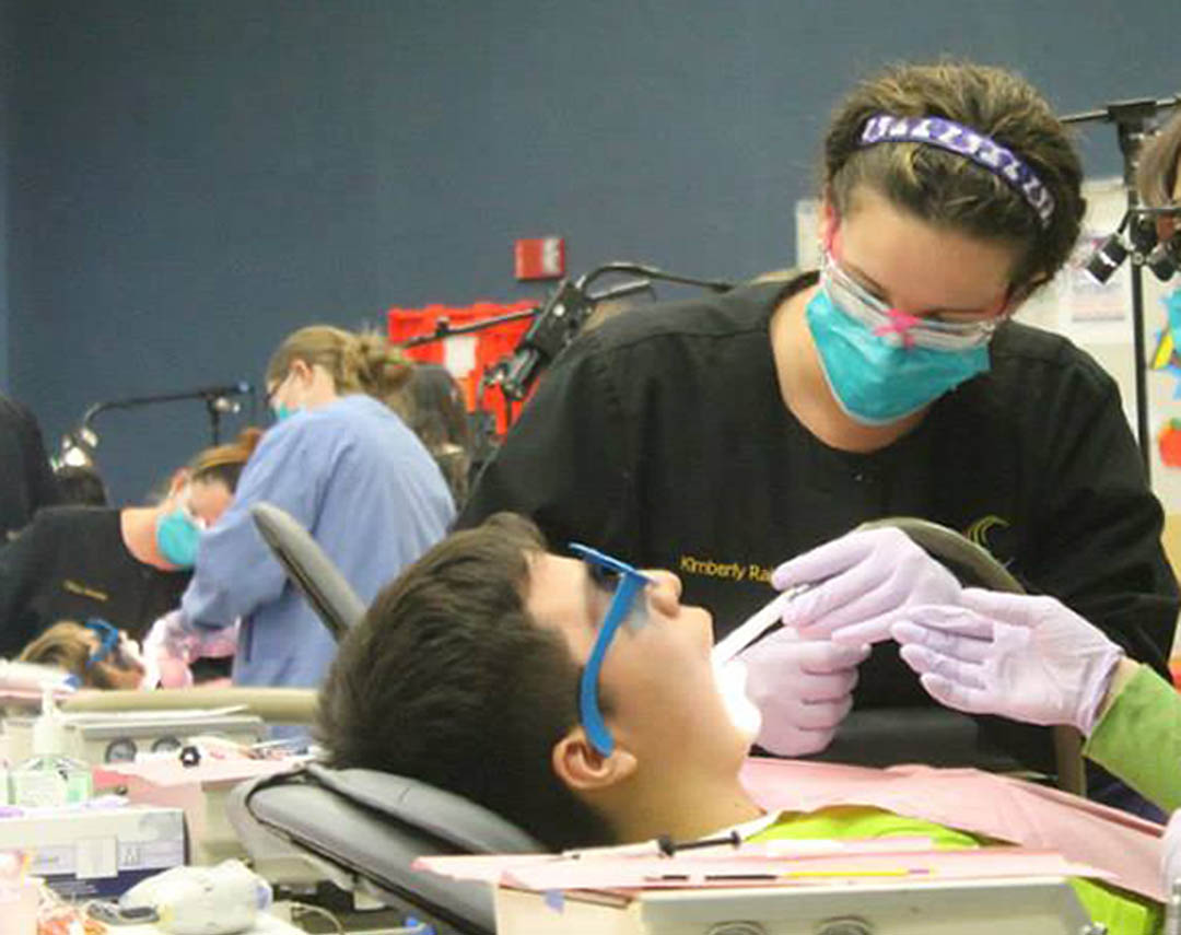 Click to enlarge CCCC dental students learn and serve