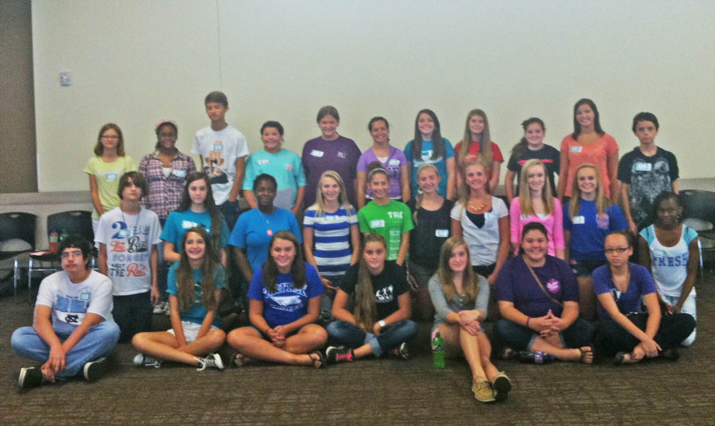Read the full story, Harnett and Lee students check out health care careers at CCCC camp