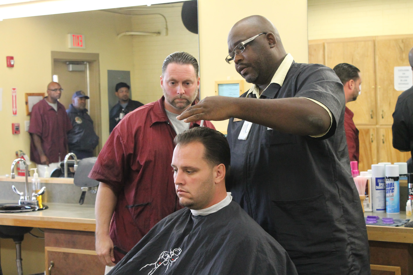 Read the full story, CCCC Barber Program Offers Inmates Fresh Start