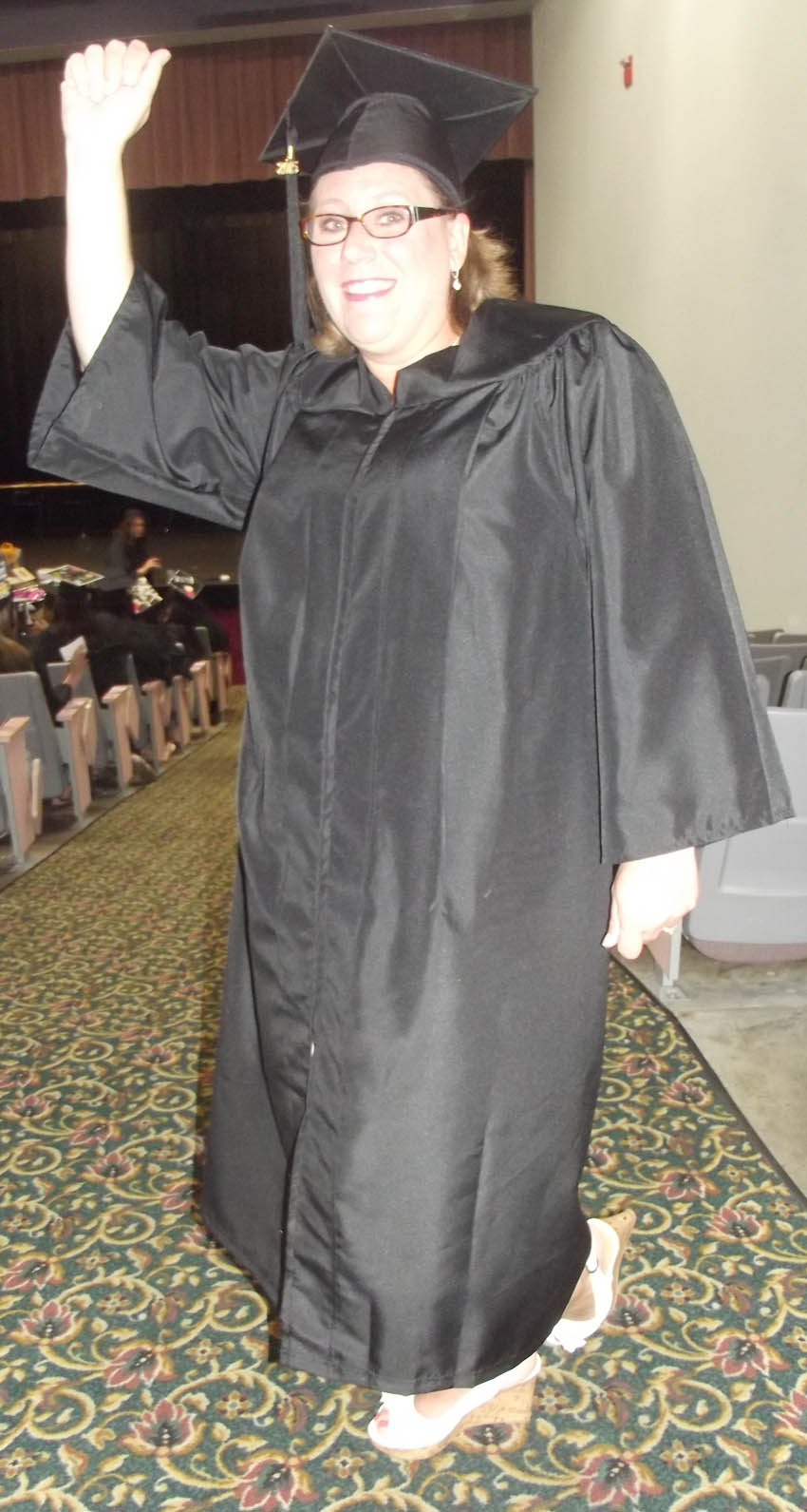 Click to enlarge,  Kristin Joanne Ostheim, of Harnett County, received her Associate of Applied Science in Nursing at the Central Carolina Community College commencement exercises on May 22 at the Dennis A. Wicker Civic Center.