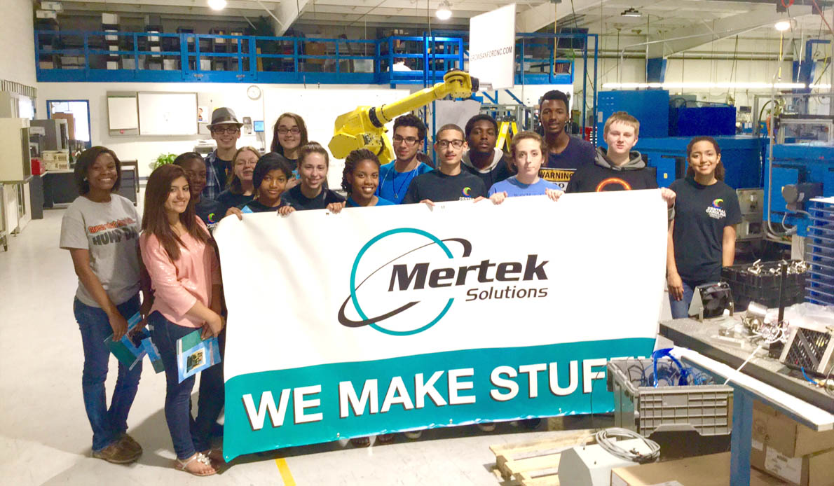 Read the full story, CCCC's UBMS students visit Mertek Solutions Inc.
