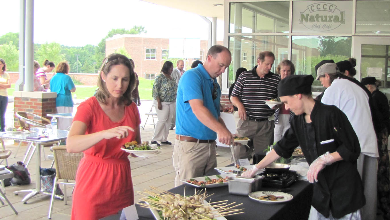 CCCC hosts Sustainable Culinary Arts & Farm Tour event