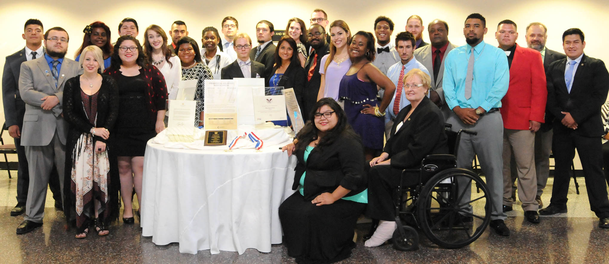Click to enlarge,  The Central Carolina Community College Phi Beta Lambda chapter has won numerous awards this year, including a national Outstanding Chapter award and first place for the Largest Professional Division in the country.