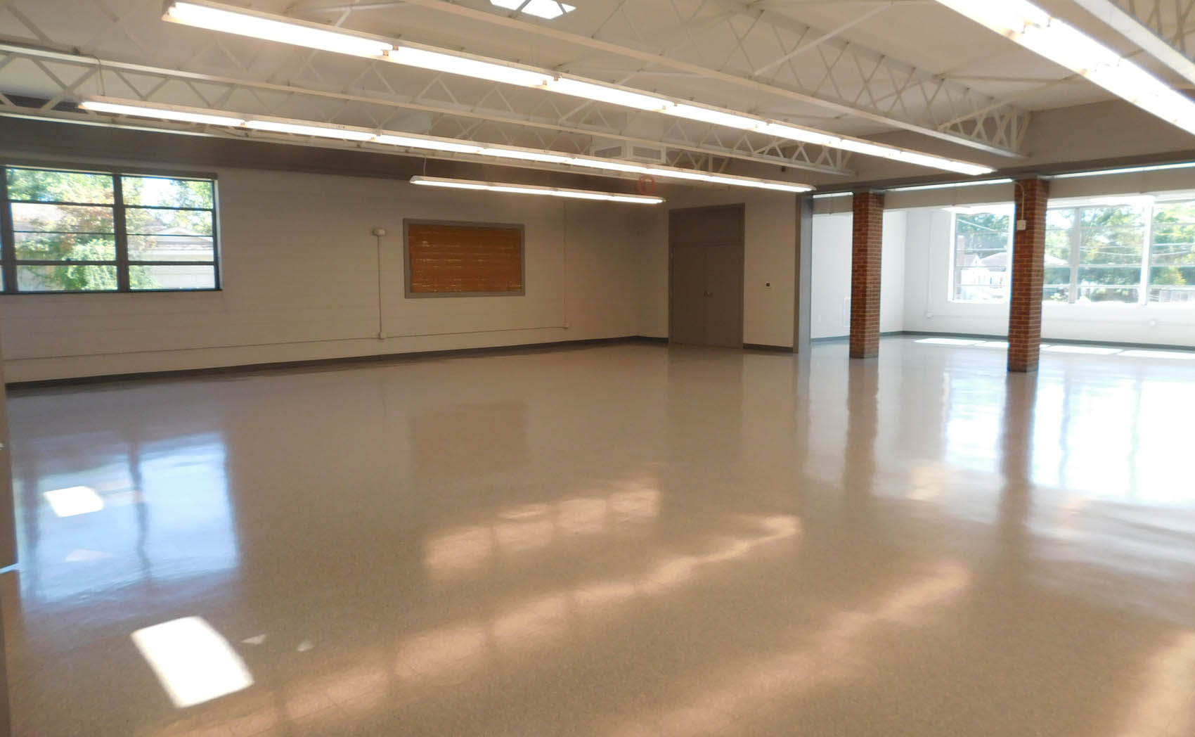 Click to enlarge,  The Central Carolina Community College Culinary Institute program will be housed in the cafeteria area of the Dunn Enrichment Center.