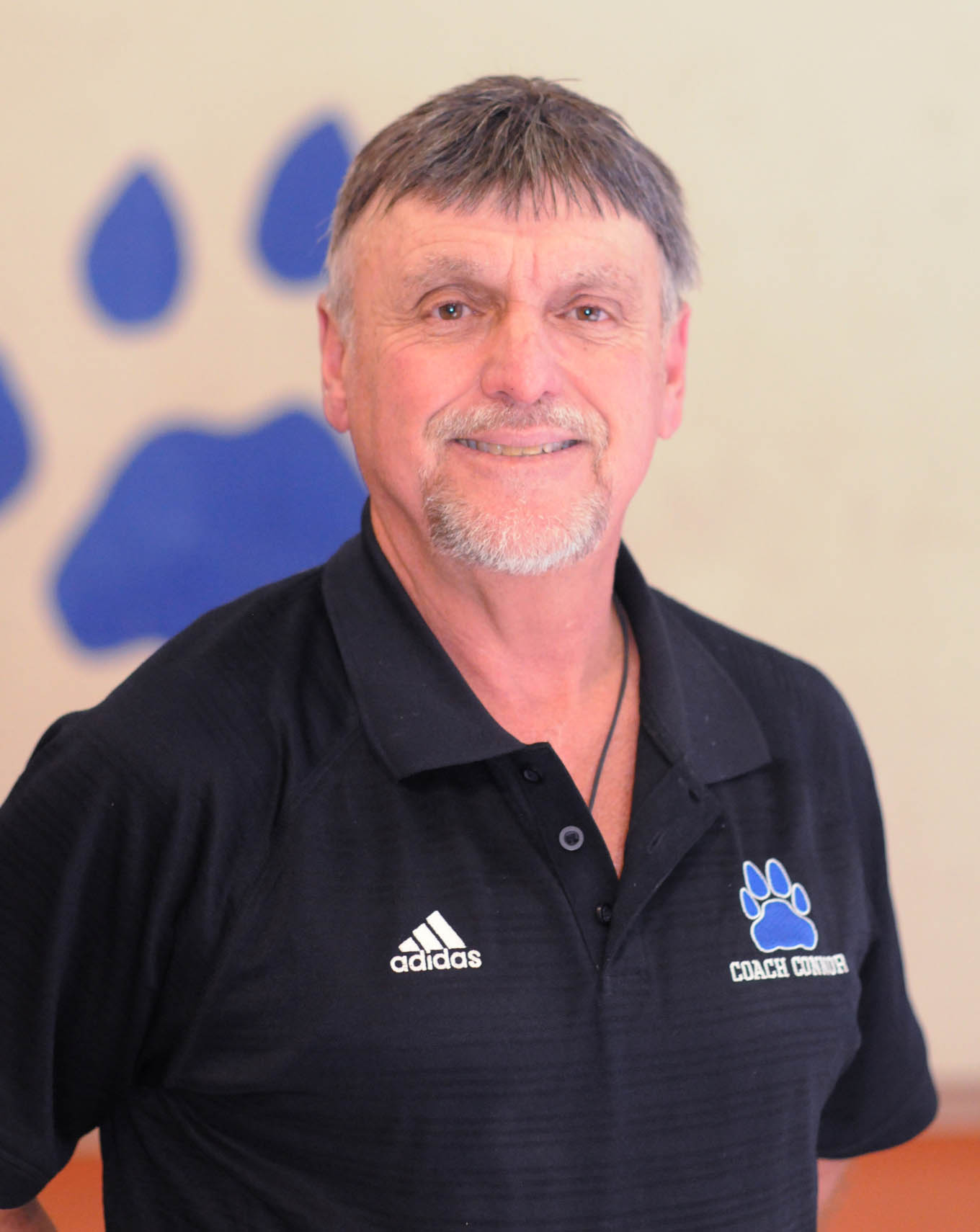 Click to enlarge,  Coach Doug Connor is in his 11th season with the Central Carolina Community College men's basketball program.