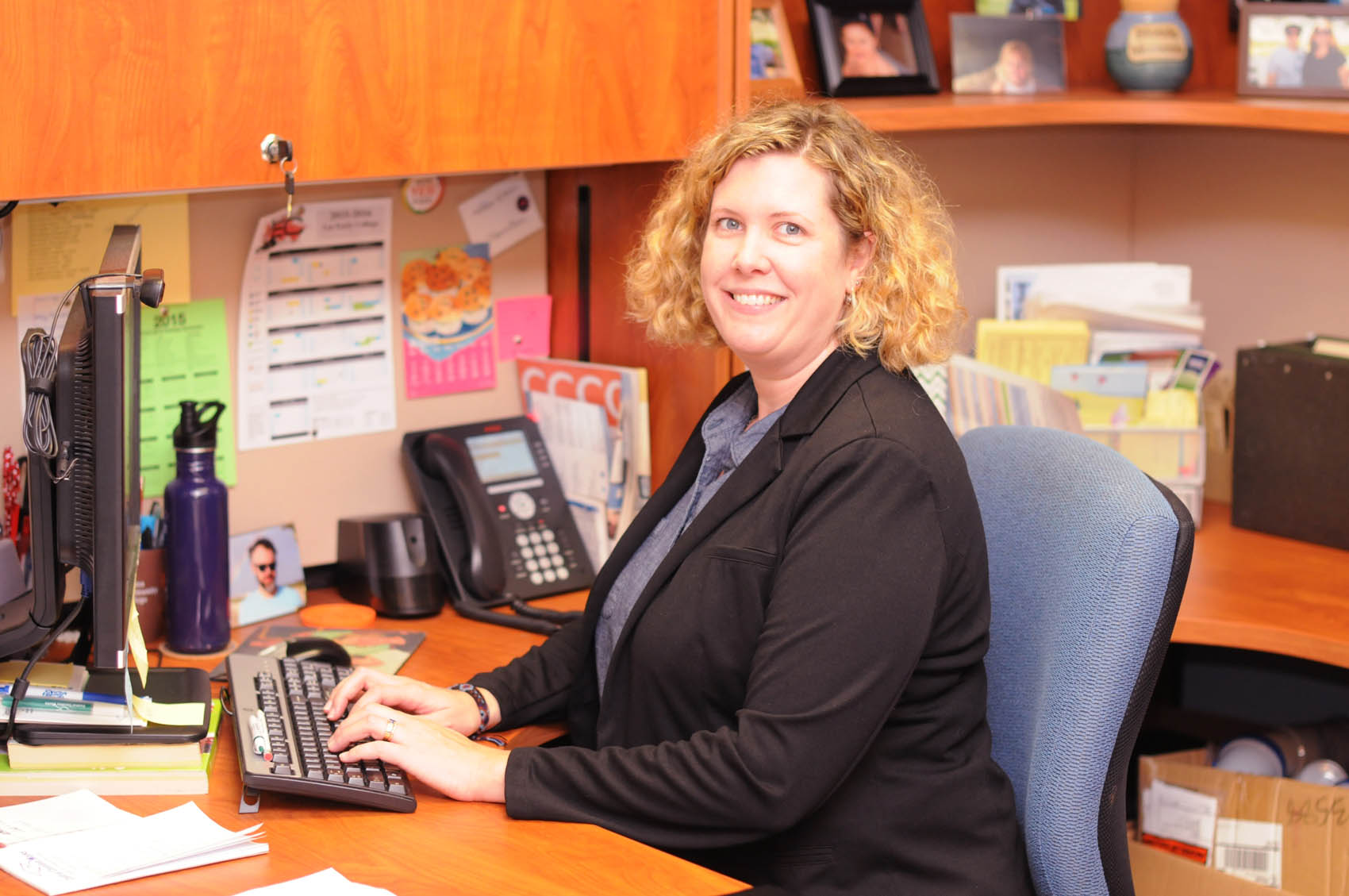 Read the full story, Virginia Mallory named CCCC's Staff Member of the Year