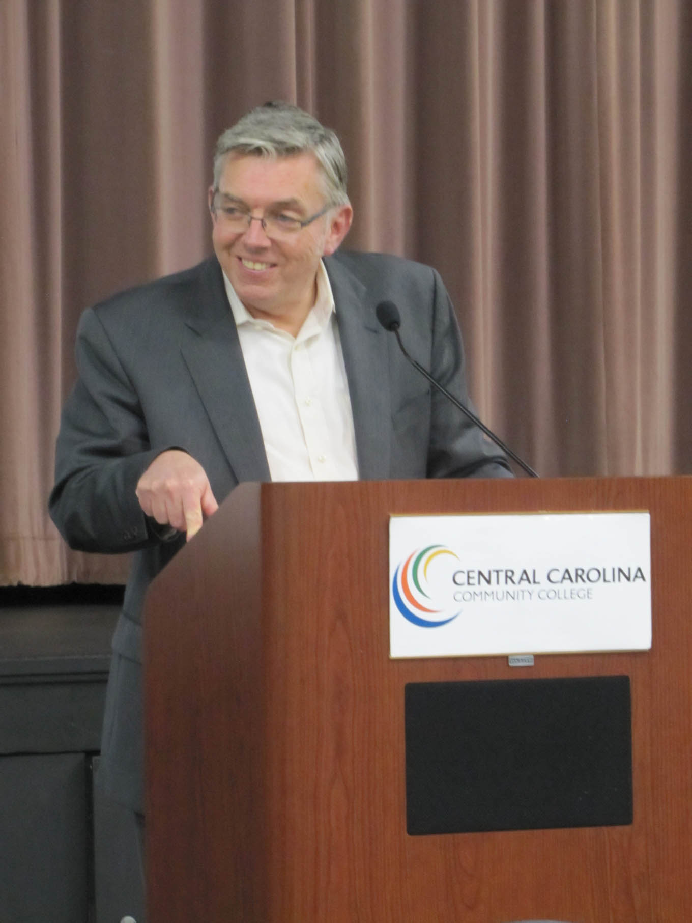 Read the full story, Fishel headlines CCCC conference for high school educators