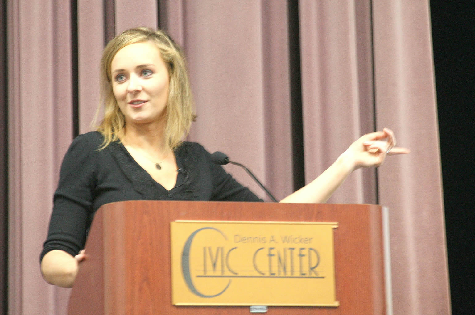 NCSU professor speaks at CCCC Liberty Lecture Series