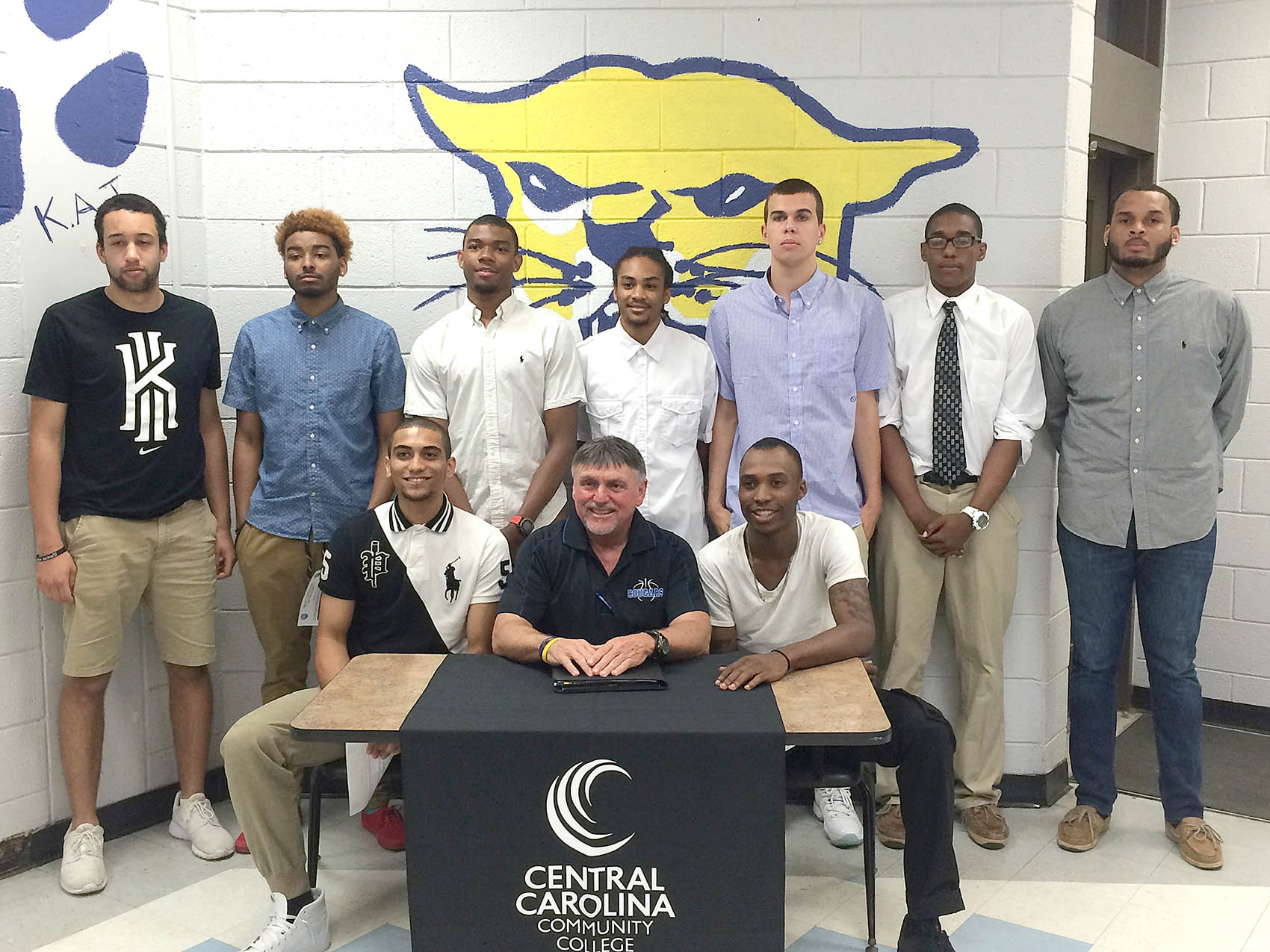 CCCC Cougars announce big signing class