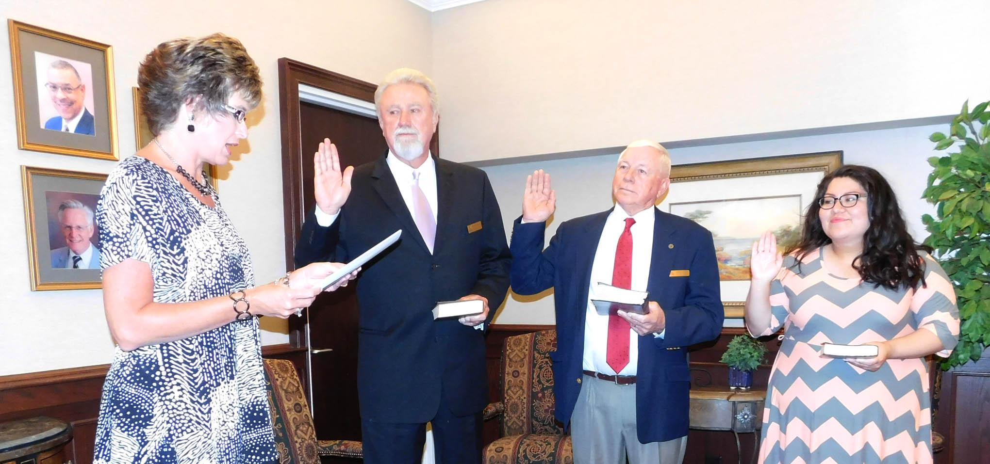 Read the full story, CCCC new and reappointed Trustees are sworn-in