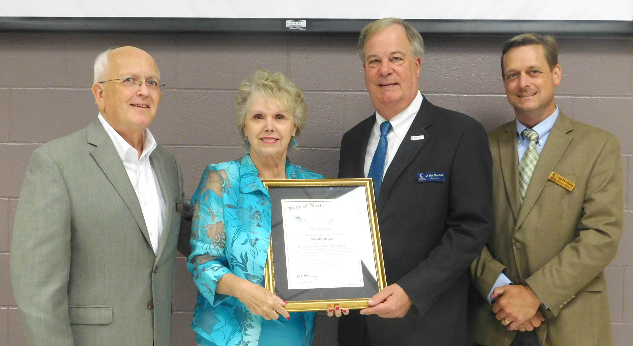 Read the full story, Retirement reception honors CCCC's Melody McGee