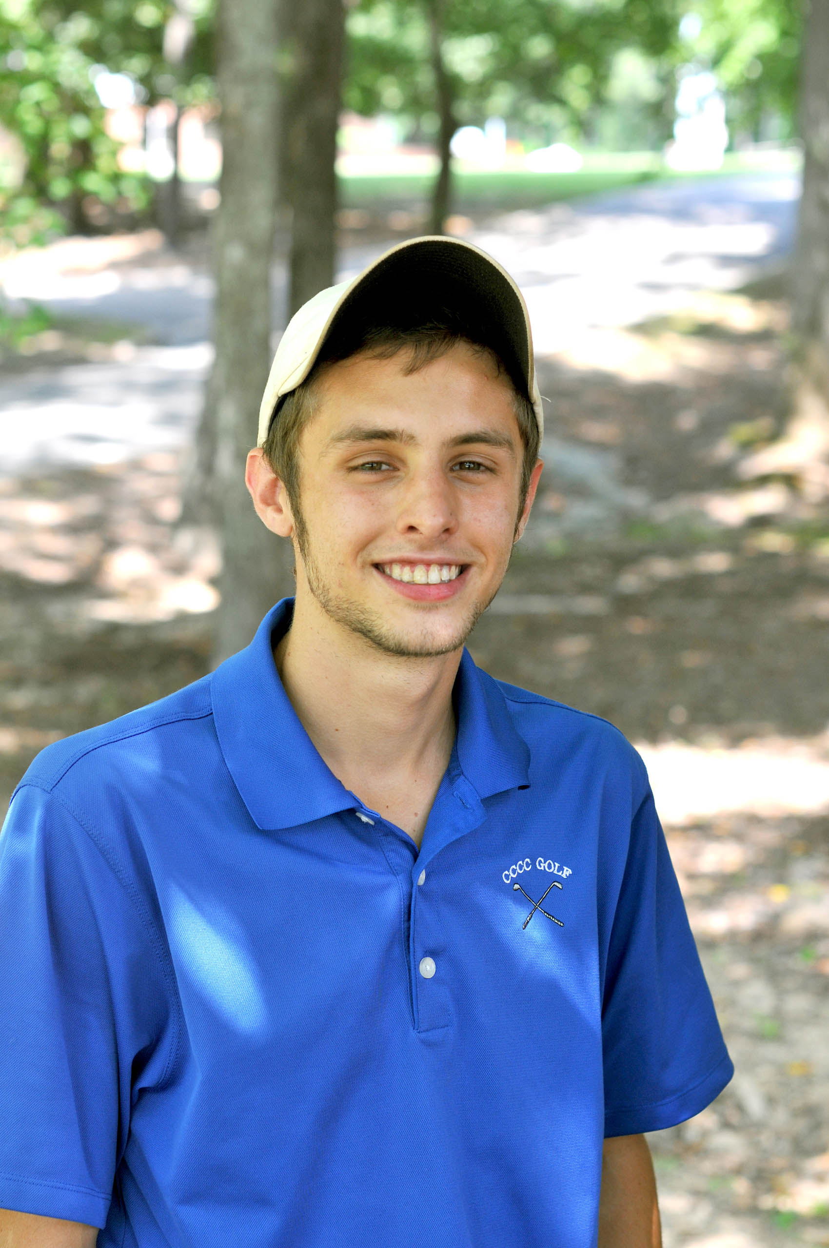 Click to enlarge,  Dillon Fail is a sophomore on this year's Central Carolina Community College golf team.