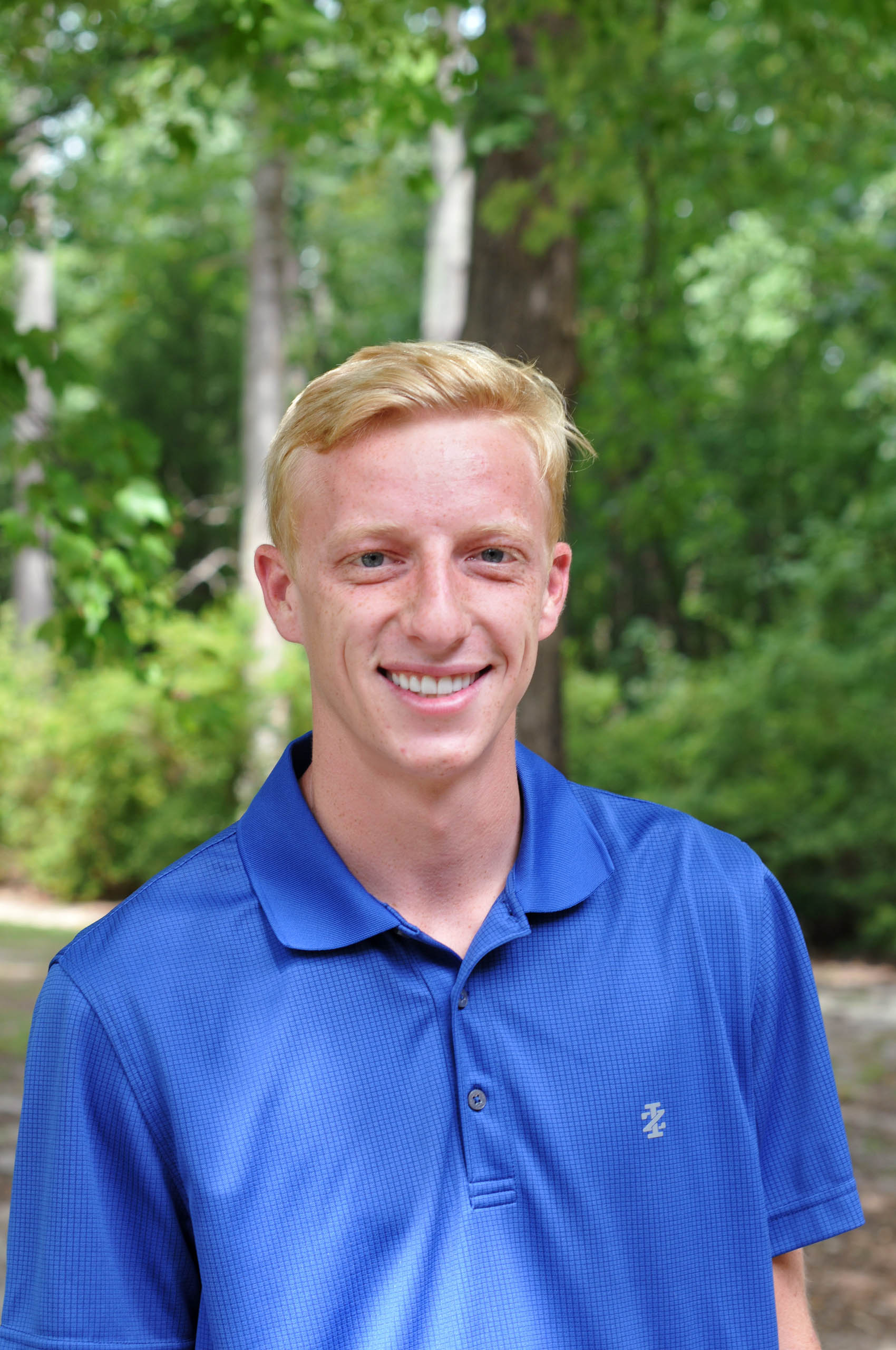 Click to enlarge,  Tyler North is a sophomore on this year's Central Carolina Community College golf team.
