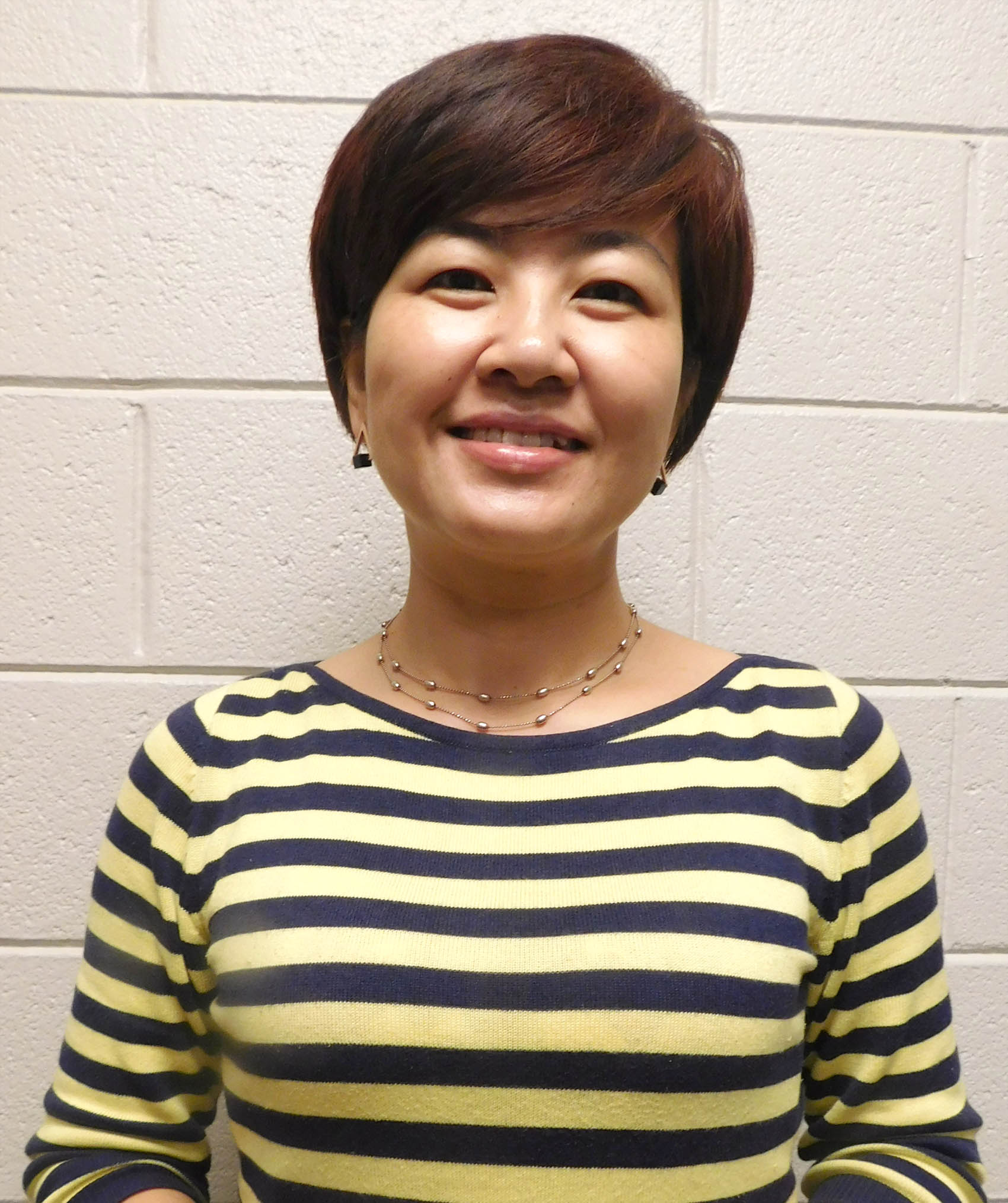 Click to enlarge,  Yuehan Ma is the newest visiting instructor for Central Carolina Community College's Confucius Classroom, an educational partnership created with N.C. State University's Confucius Institute and Nanjing Normal University.