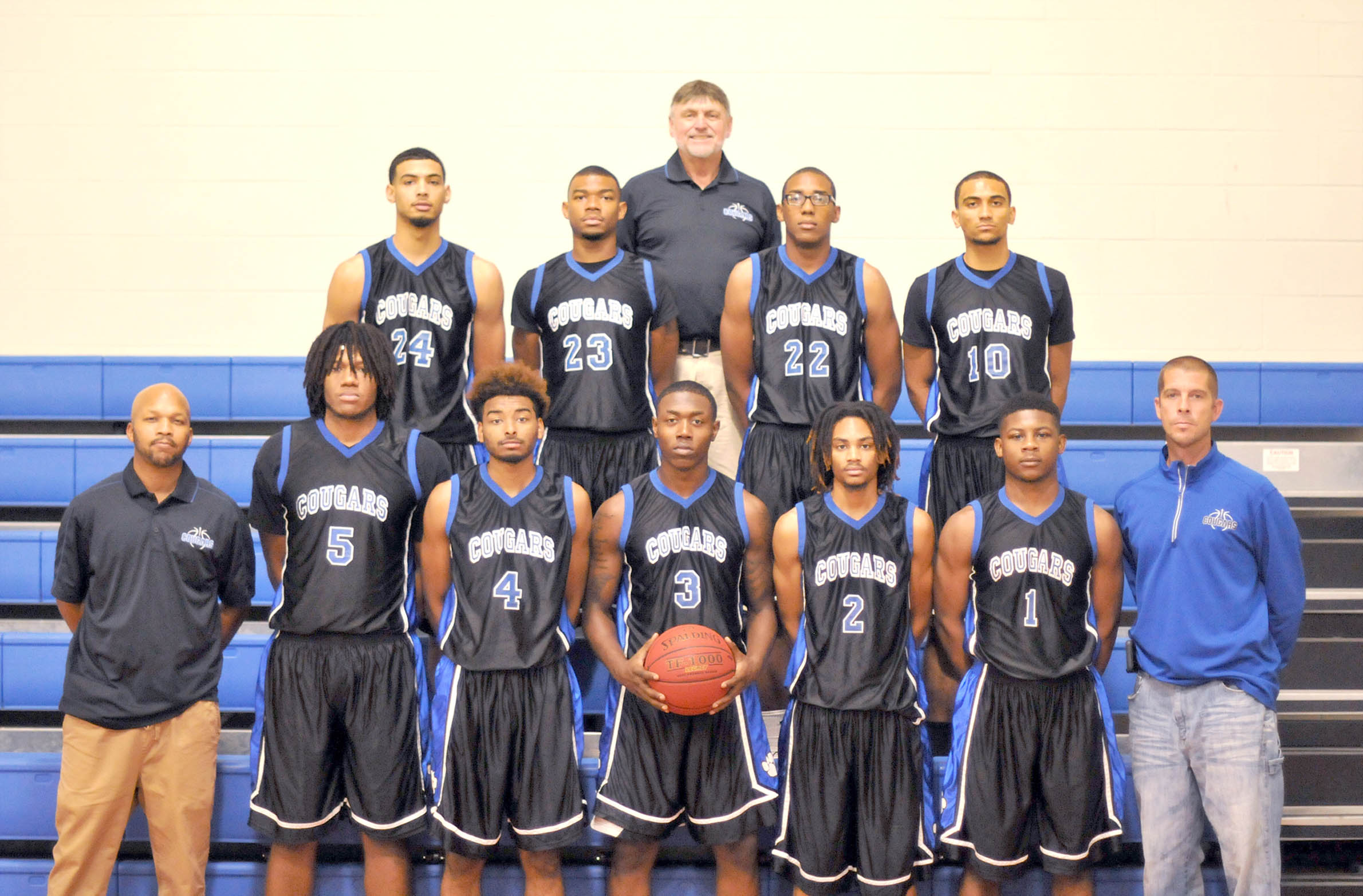 Read the full story, All-around athletes will be strength of CCCC men's basketball team