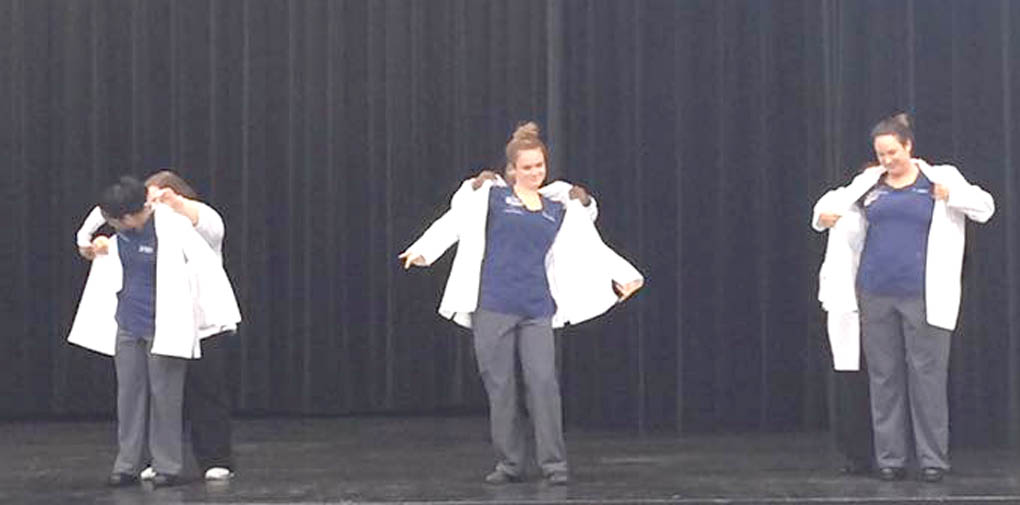 CCCC nursing program has White Coat Ceremony