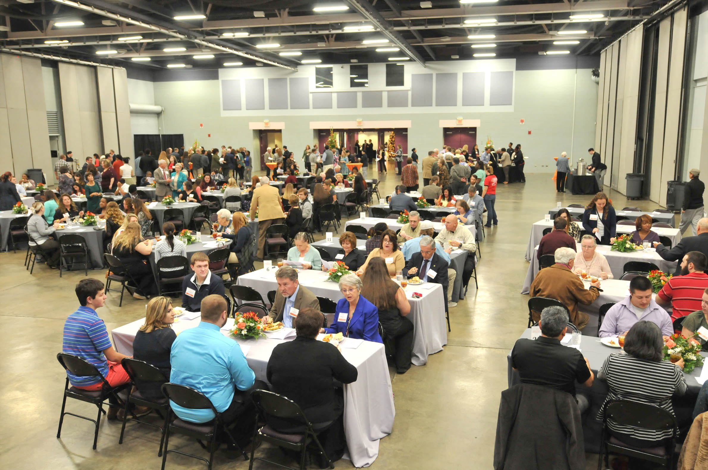 Click to enlarge,  Central Carolina Community College's Scholarship Luncheon was held on Wednesday, Nov. 16, at the Dennis A. Wicker Civic Center.