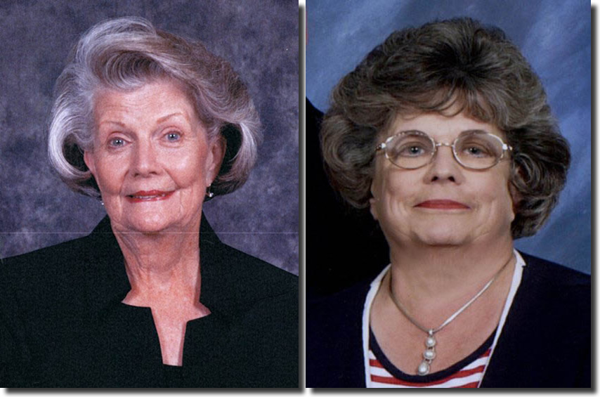 "Click to enlarge,  An endowment has been established at Central Carolina Community College to honor sisters Gail Smith Bridges and Patricia ""Pat"" Smith Bridges of the Deep River Community."